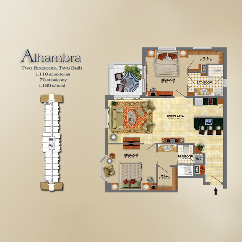 the palace coral gables floor plans